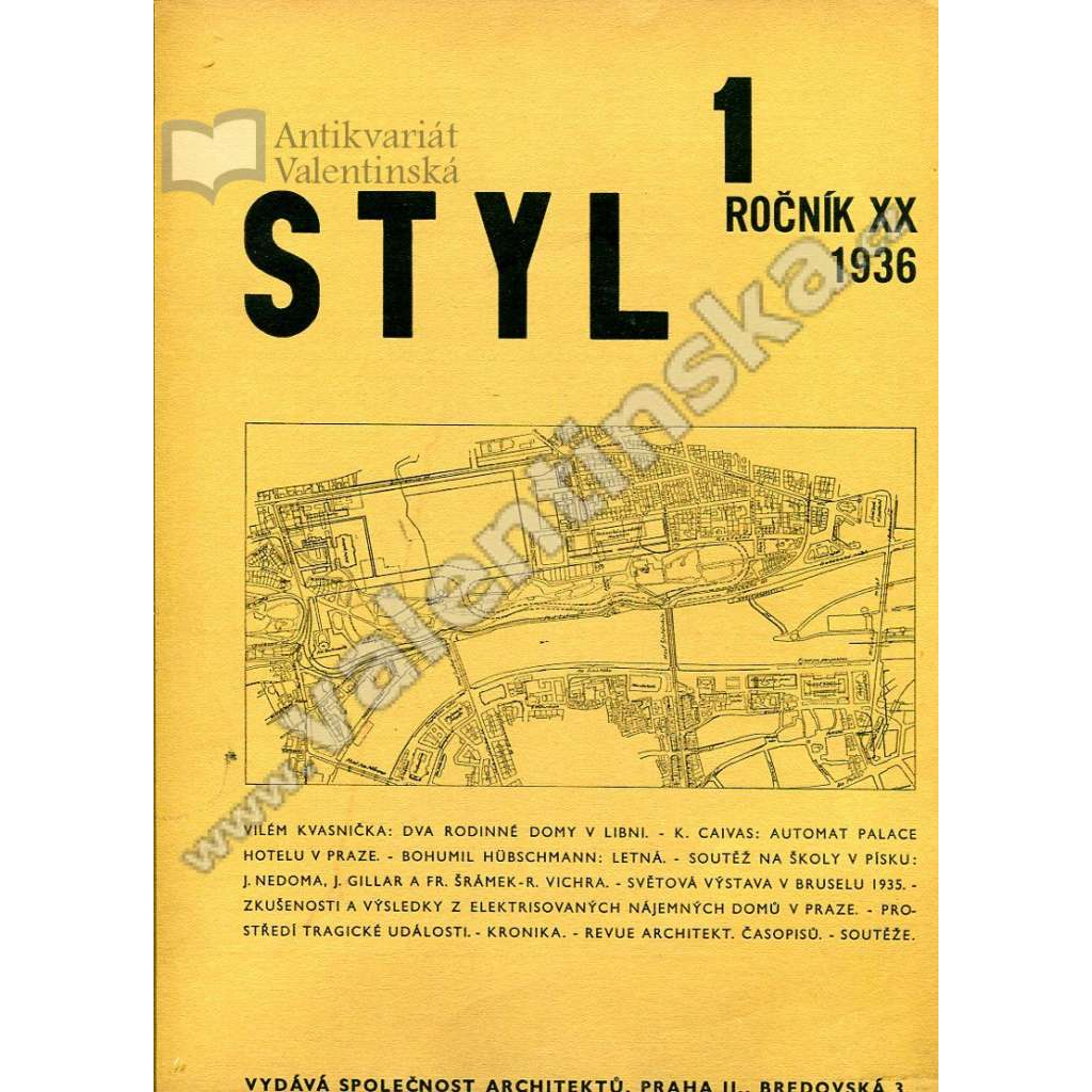 Styl 1-3 / XX (1936)