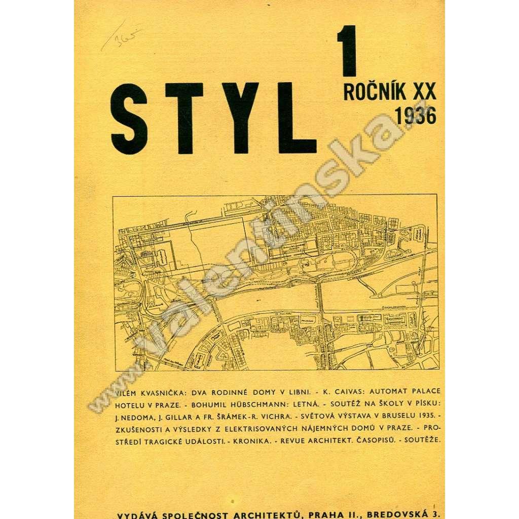 Styl 1-3, 5-6 / XX (1936)