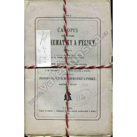 Časopis pro pěstování mathematiky a fysiky, 1914