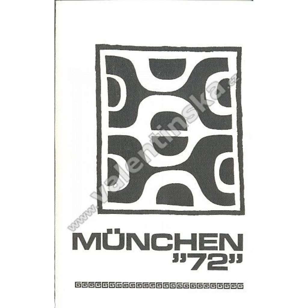 """München """"72"""" (exil)"""