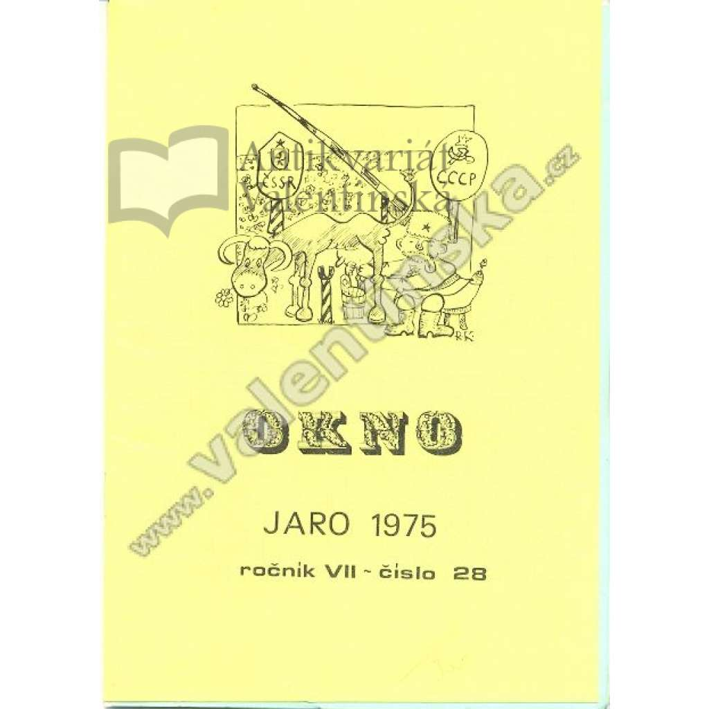 Okno, roč. VII; číslo 28; 1975 (exil)