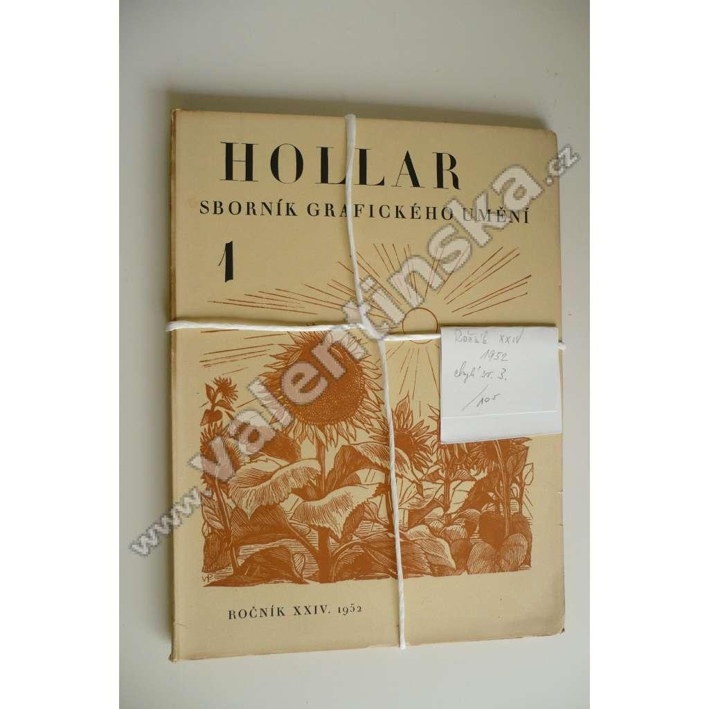 HOLLAR - Sborník grafického umění. XXIV - 1952