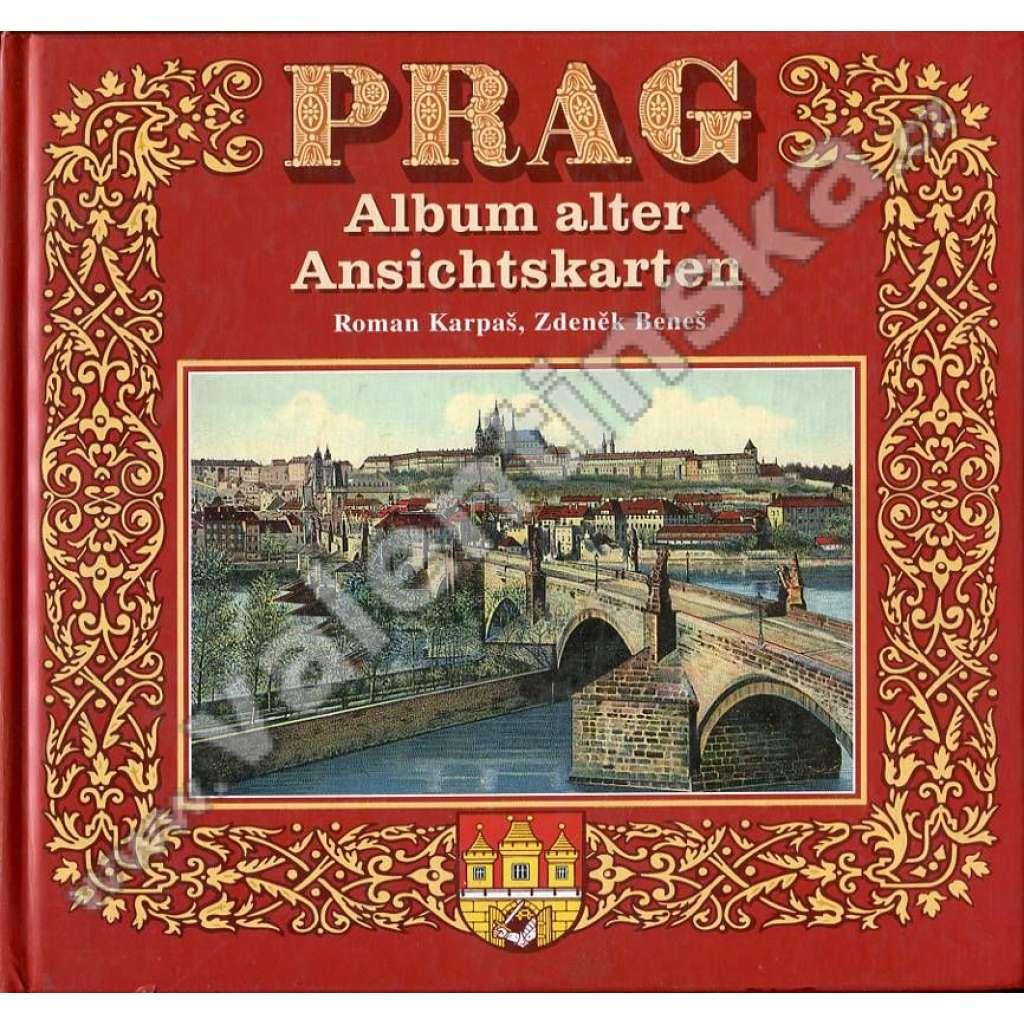 Prag: Album alter Ansichtskarten