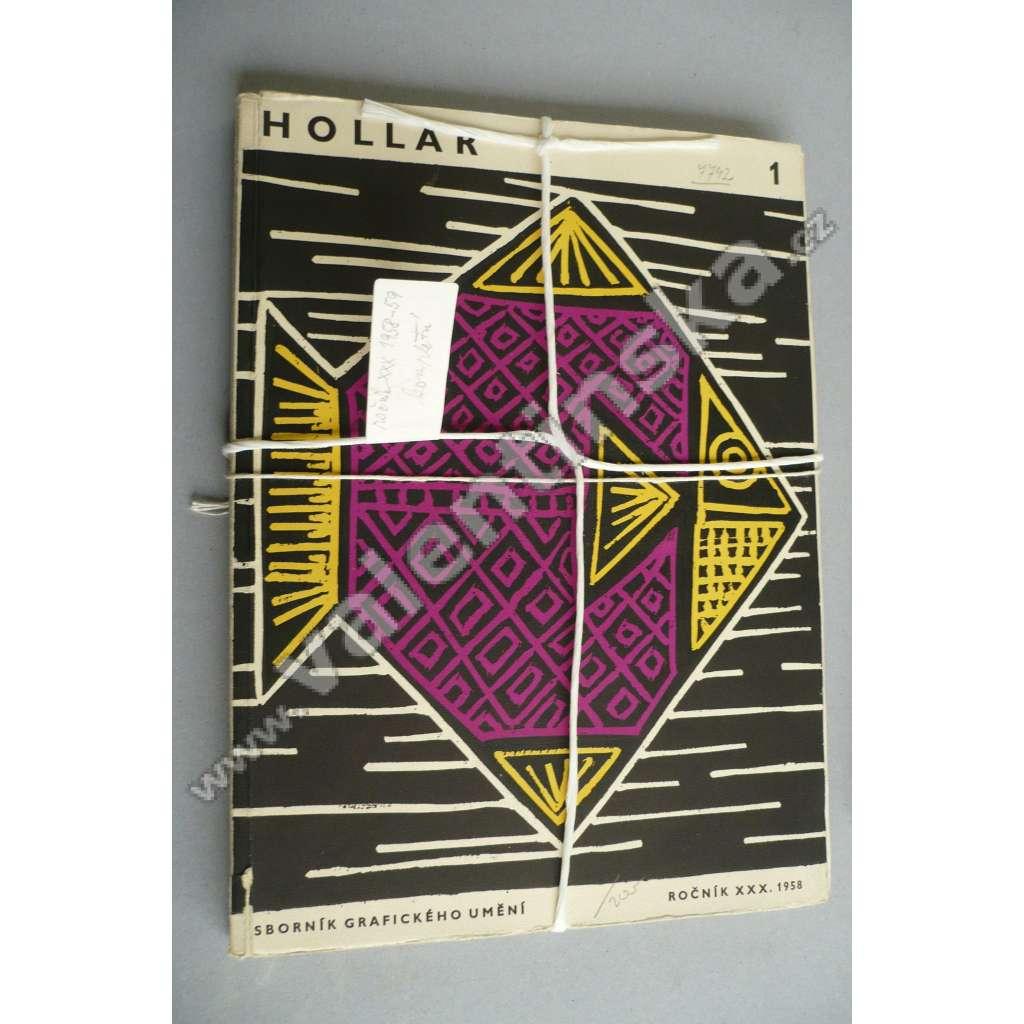 HOLLAR - Sborník grafického umění. XXX - 1958