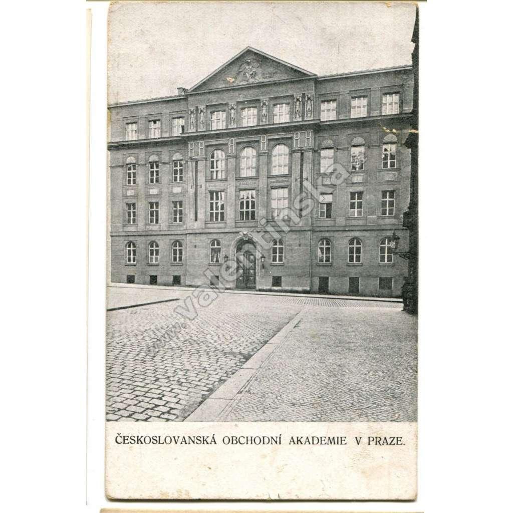 Praha obchodní akademie