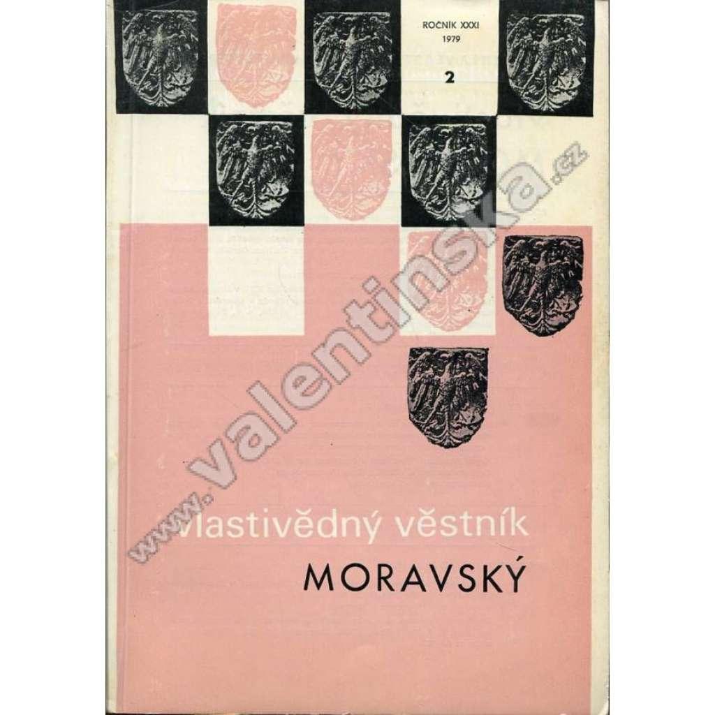 Vlastivědný věstník moravský, 2/XXXI. (1979)