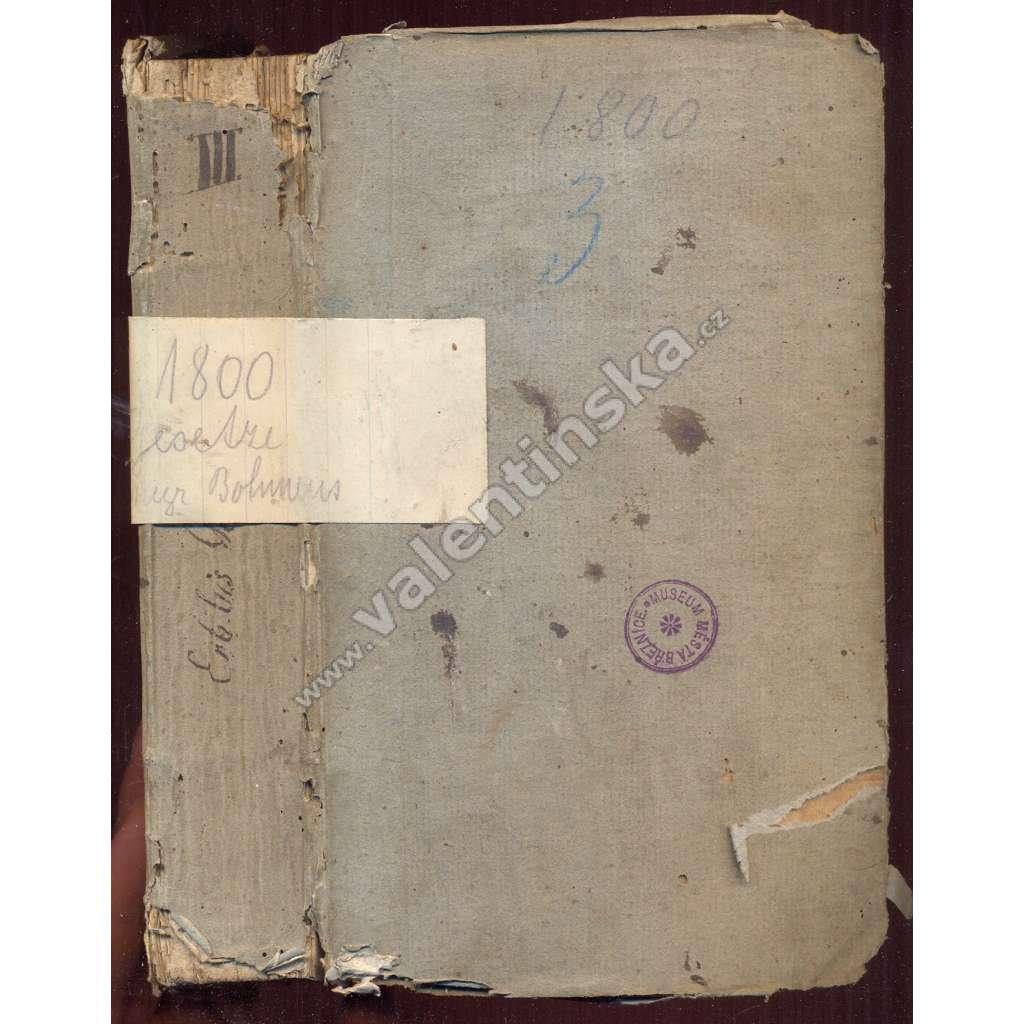 Vollständiger Auszug,Gesetze, Erb-Ger., 3.Theil, 1800