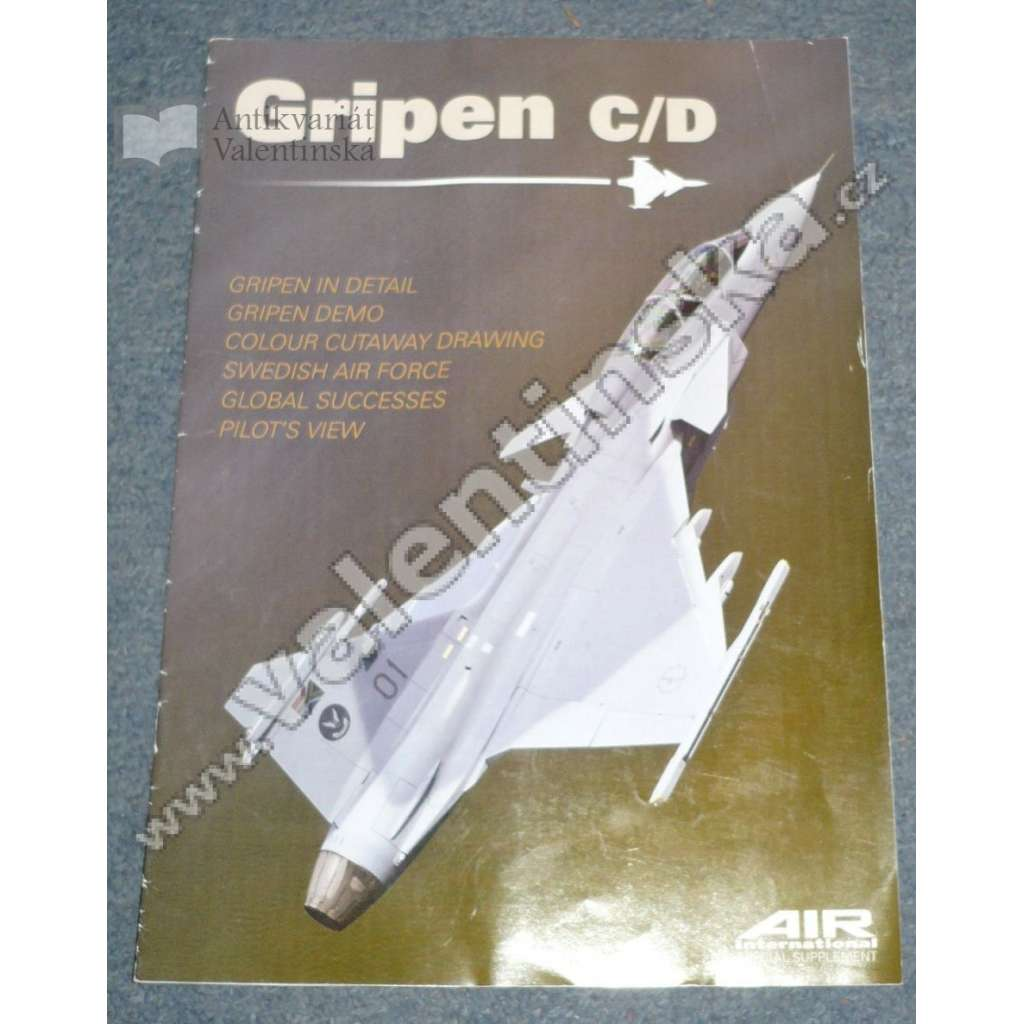 Gripen C/D. Air International Special Supplement.