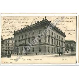 Brno, Besední dům, hotel Slavia