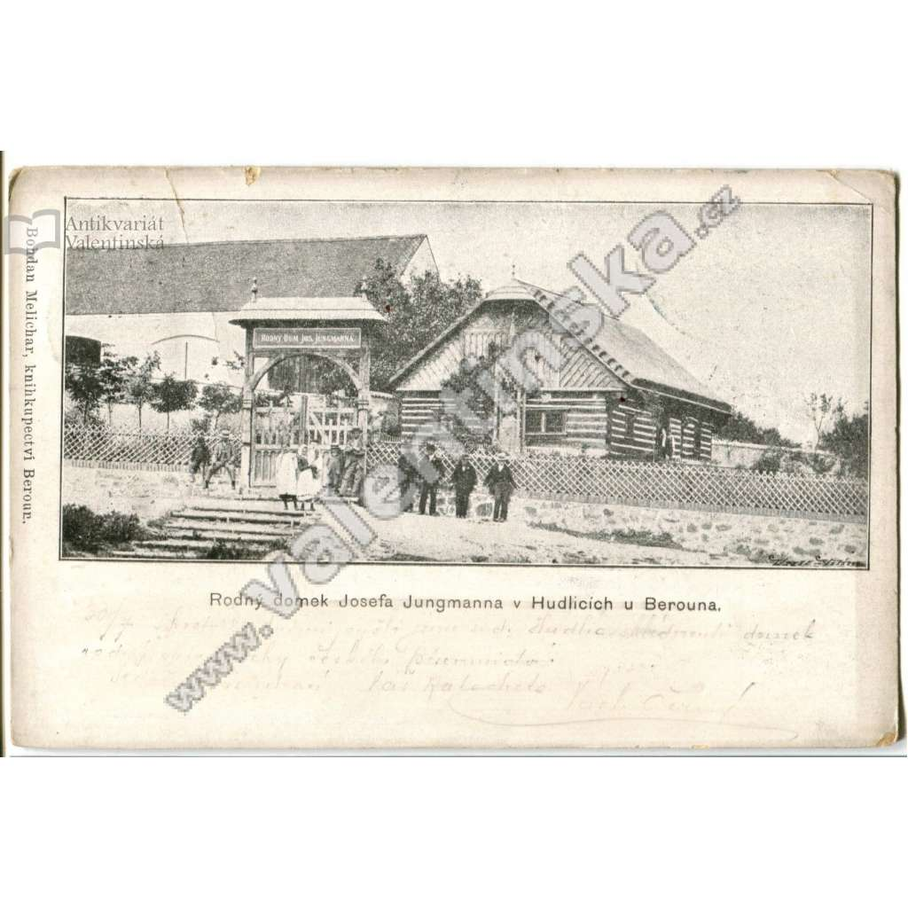 Hudlice,, Beroun, rodný dům Jungmann