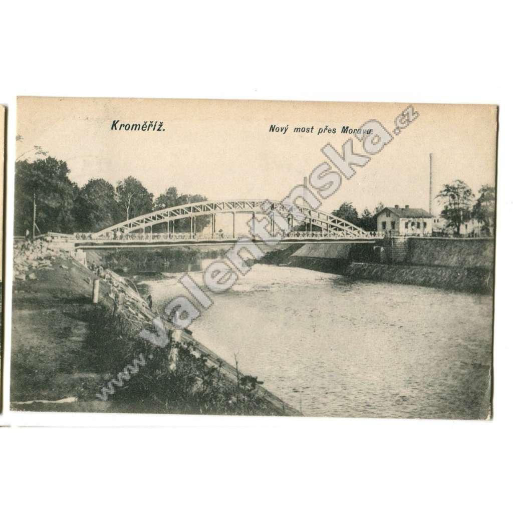 Kroměříž,, Nový most přes Moravu.