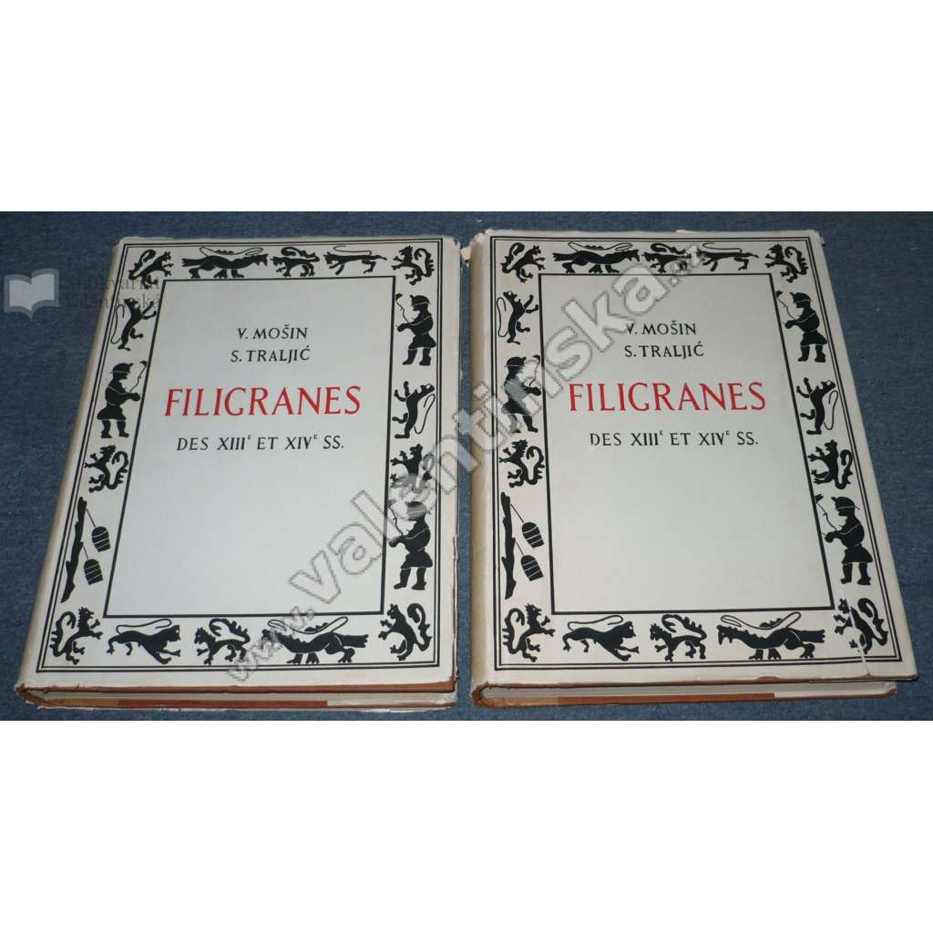 Filgranes des XIIIe et XIVe SS = Vodeni znakovi XIII. i XIV vijeka