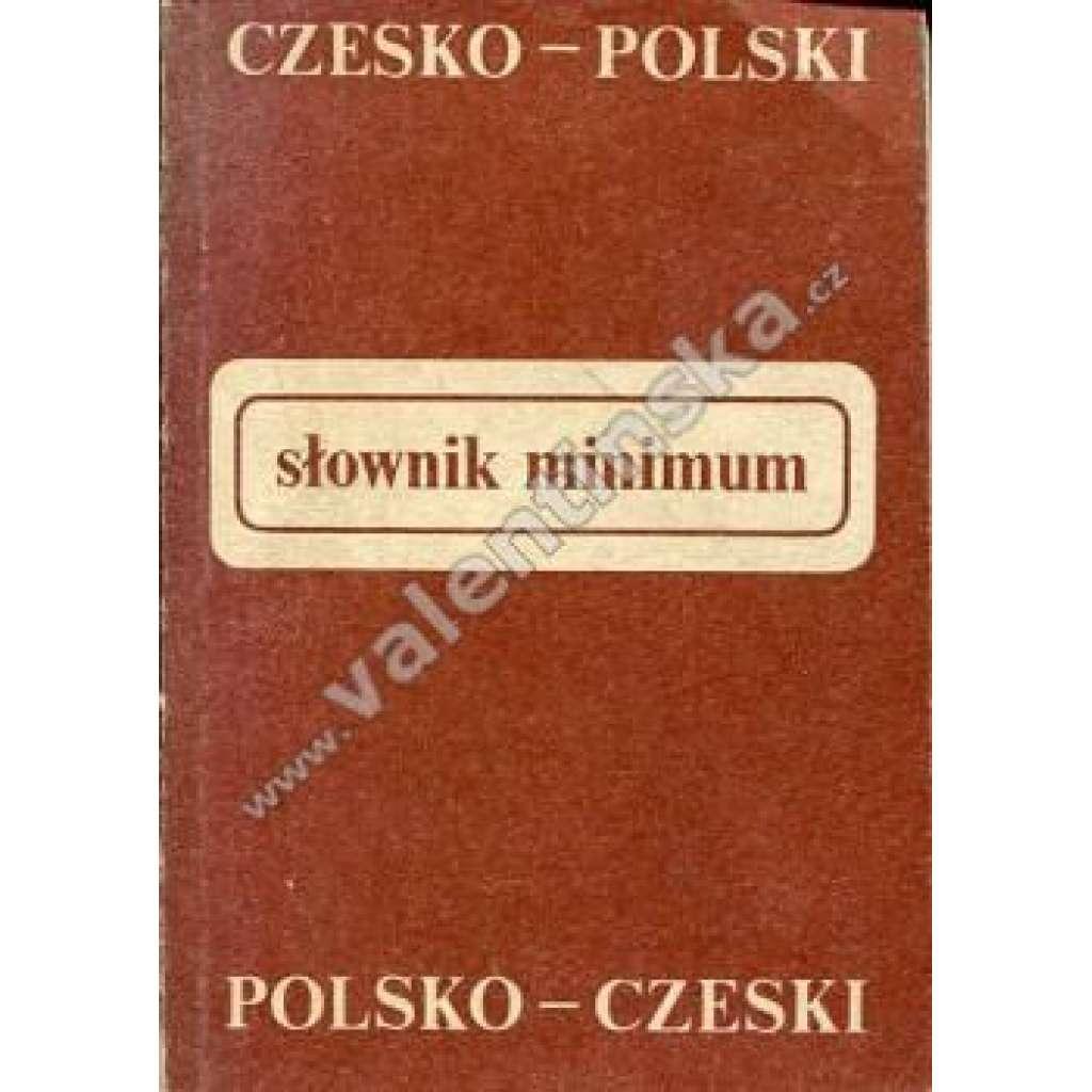 Slovník - minimum: česko-polský a polsko-český