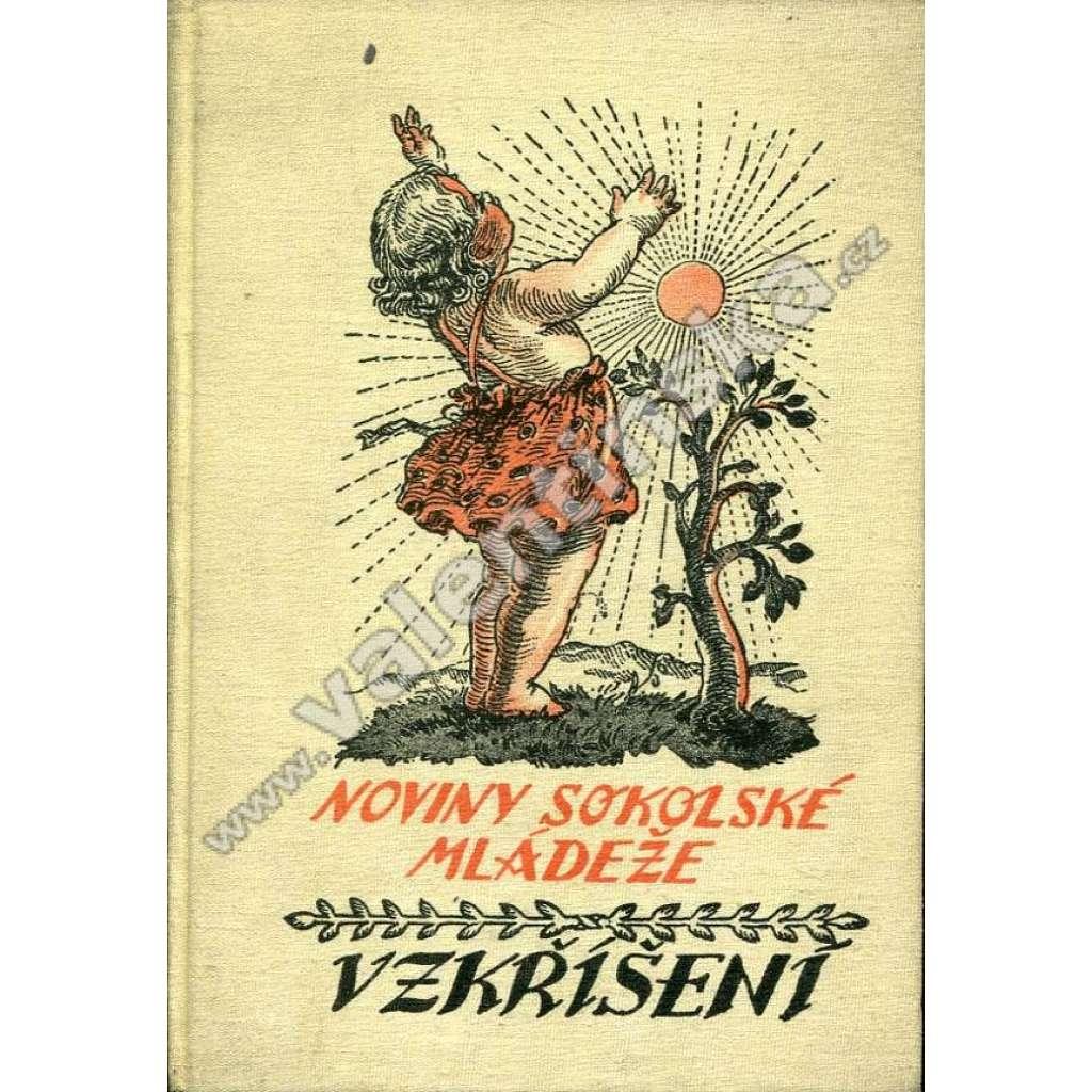 Vzkříšení: Noviny sokolské mládeže, r. 22. (1936)