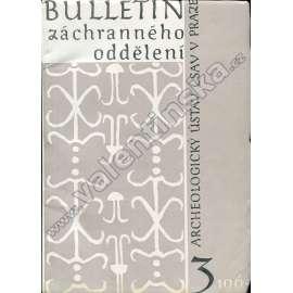 Bulletin záchranného oddělení, 3/1965