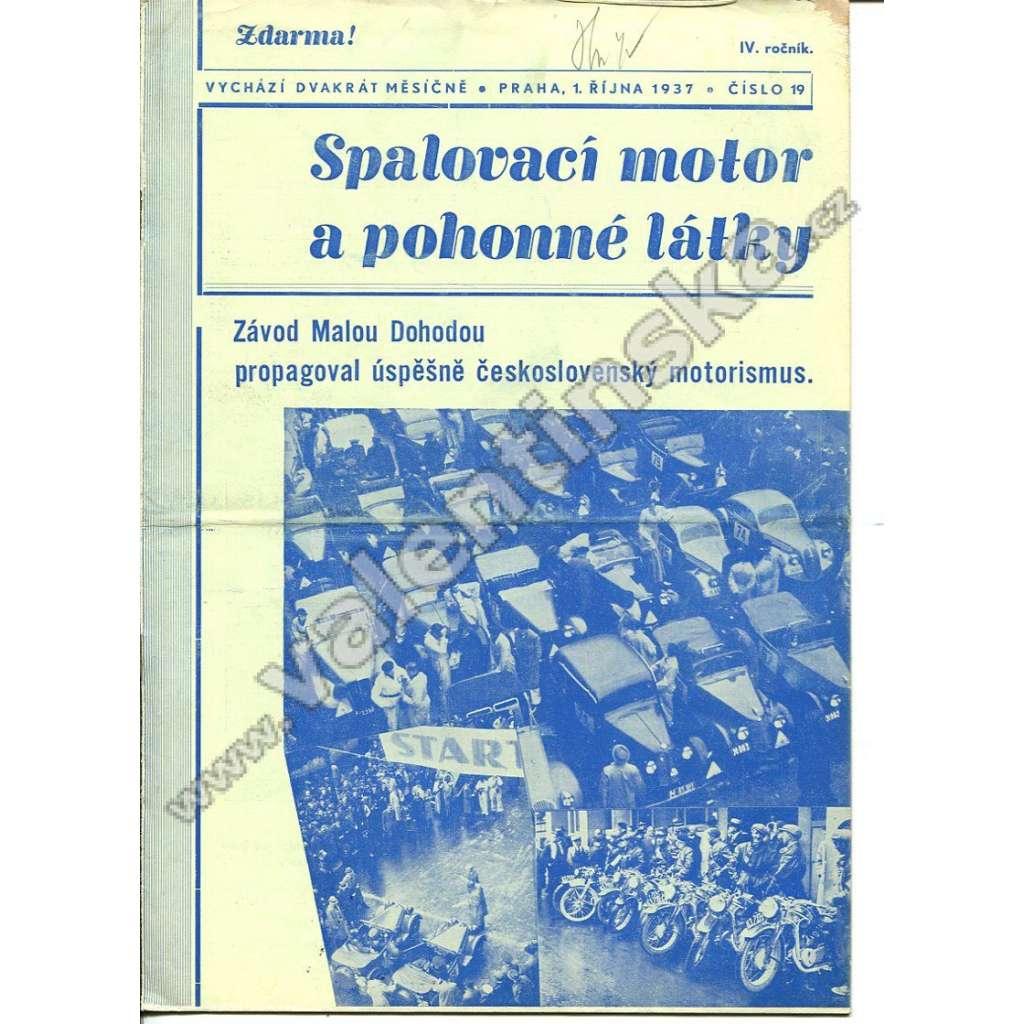 ČASOPIS SPALOVACÍ MOTOR A POHONNÉ LÁTKY IV/19