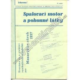ČASOPIS SPALOVACÍ MOTOR A POHONNÉ LÁTKY IV/6