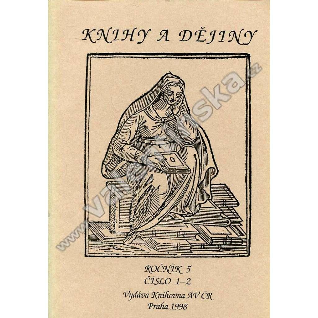 Knihy a dějiny, 1-2/1998 (r. V.)