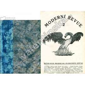 Moderní revue,  svazek XXXVII  (1922)