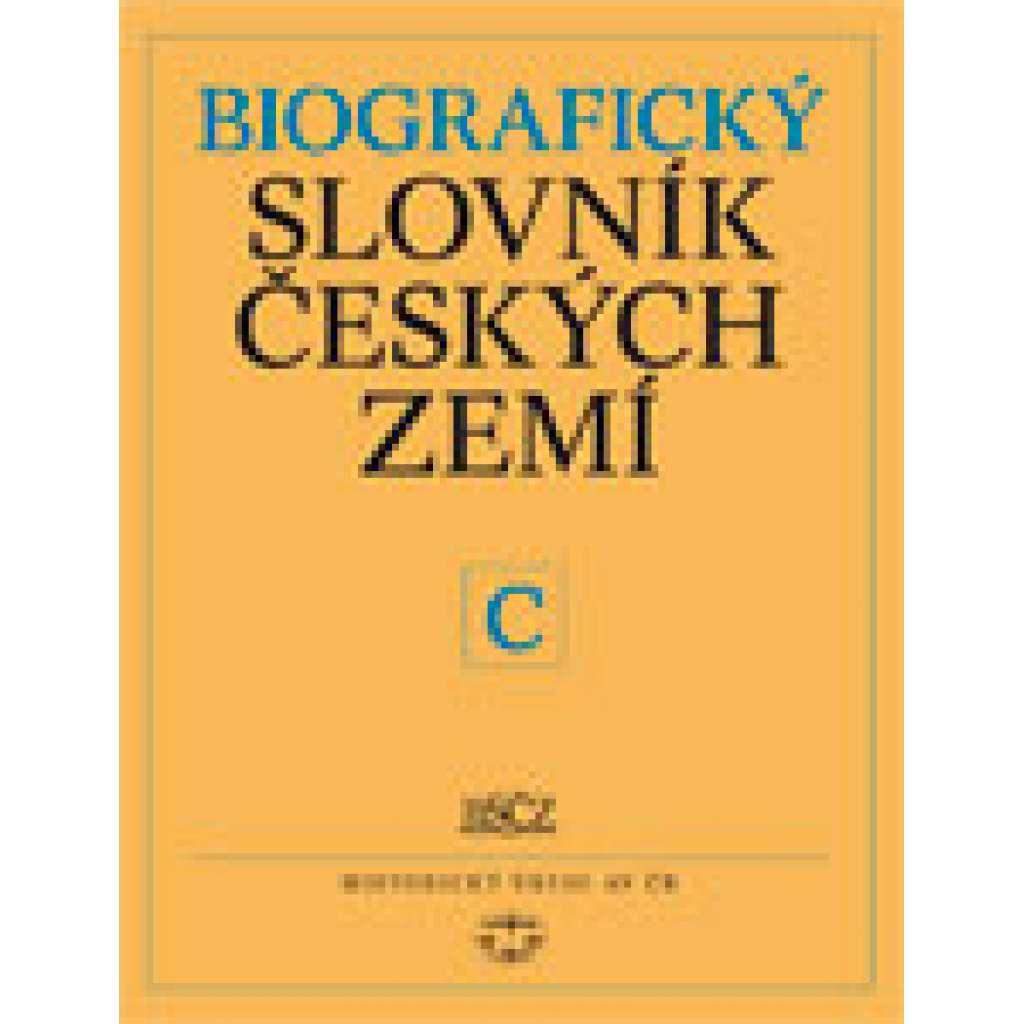 Biografický slovník českých zemí, 9. sešit (C)