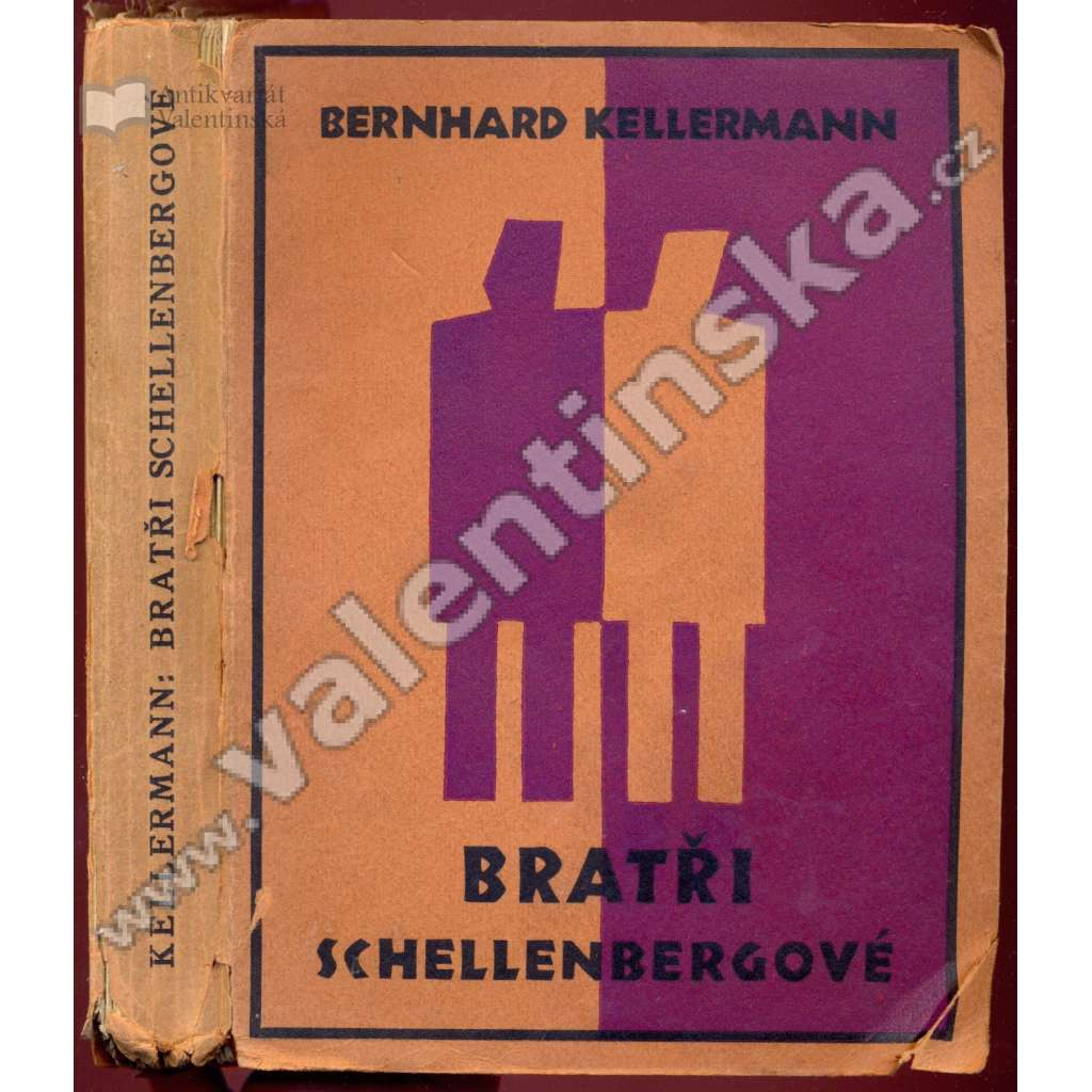 Bratři Schellenbergové (obálka Josef Čapek)