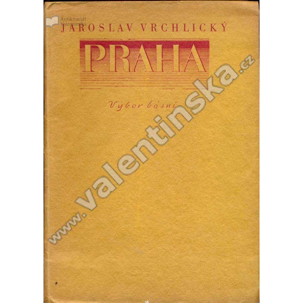 Praha (výbor básní)
