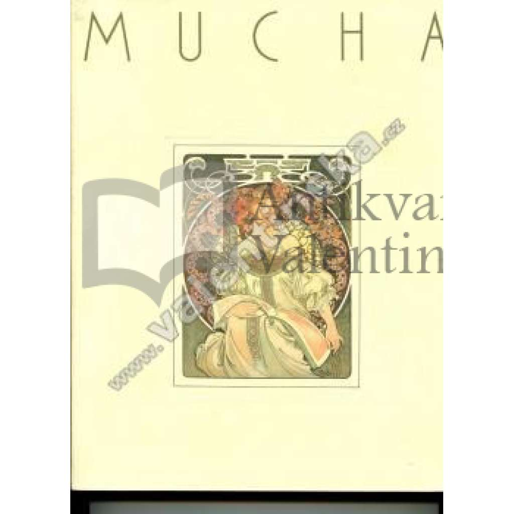 Alphonse Mucha -Catalogue from exhibition in Japan