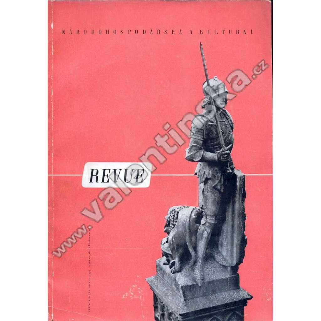 Národohospodářská a kulturní revue, 1943