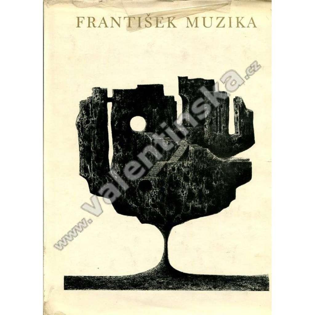 František Muzika + orig. grafika LARVA (1966)