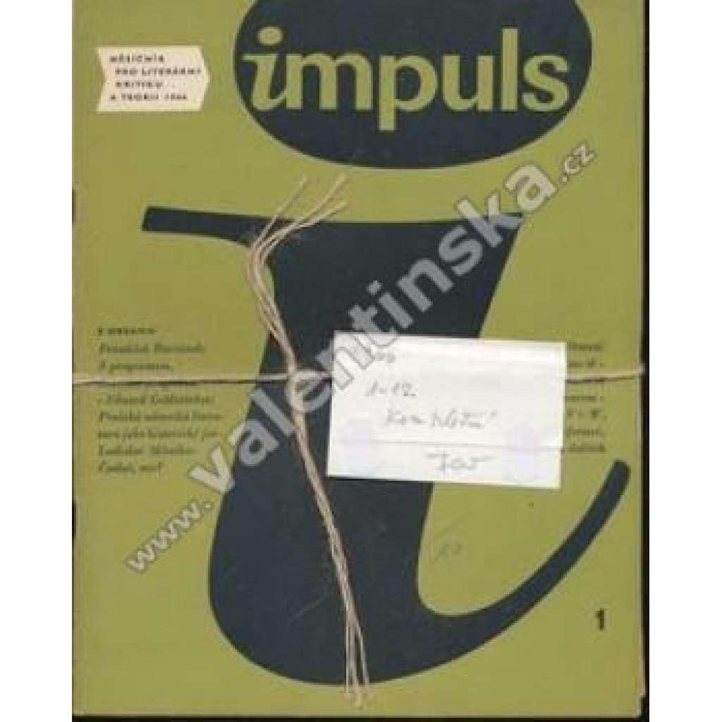 Měsíčník Impuls, r. I. (1966), v sešitech, komplet