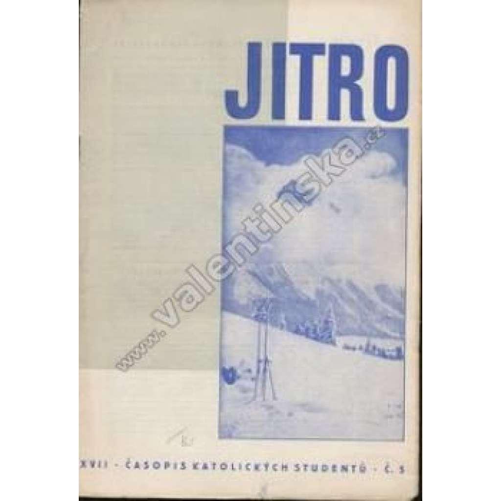 Časopis katolických studentů Jitro, r. XVII., č.5