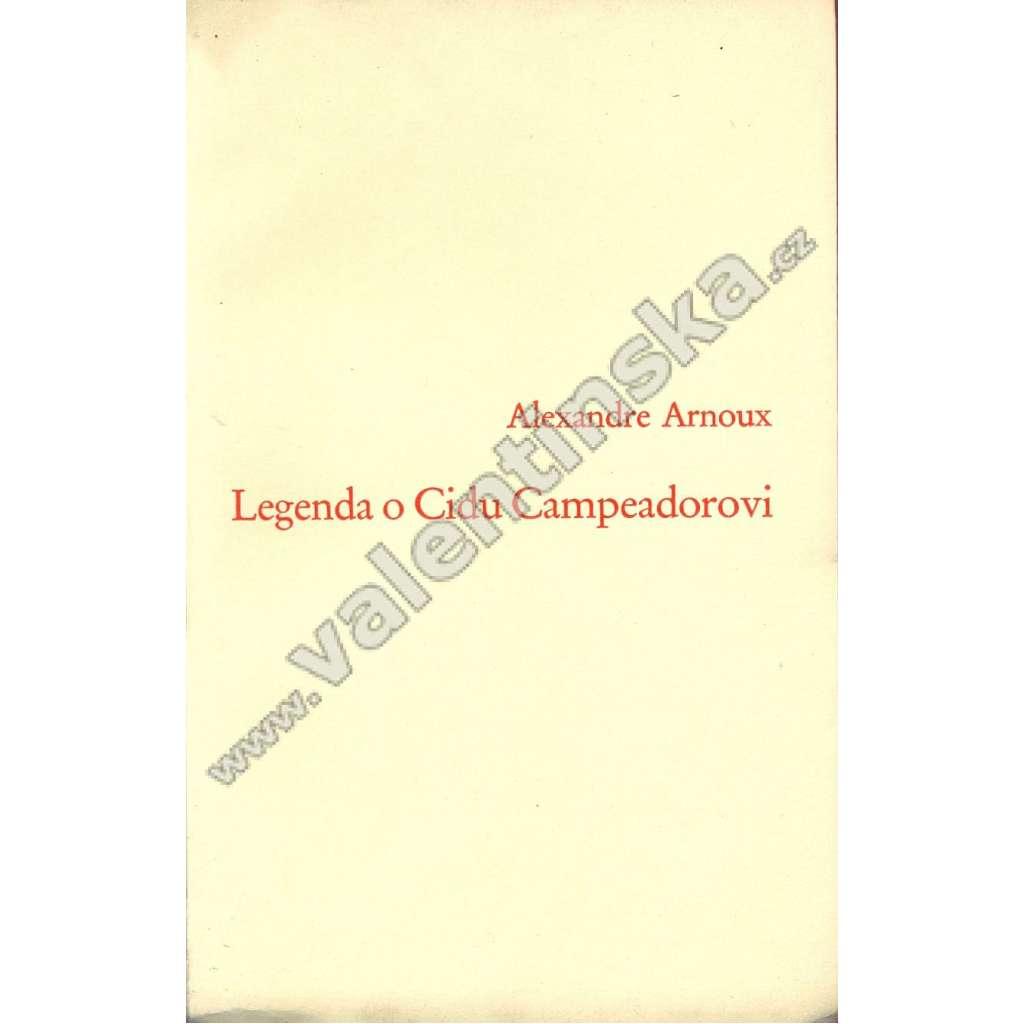 Legenda o Cidu Campeadorovi
