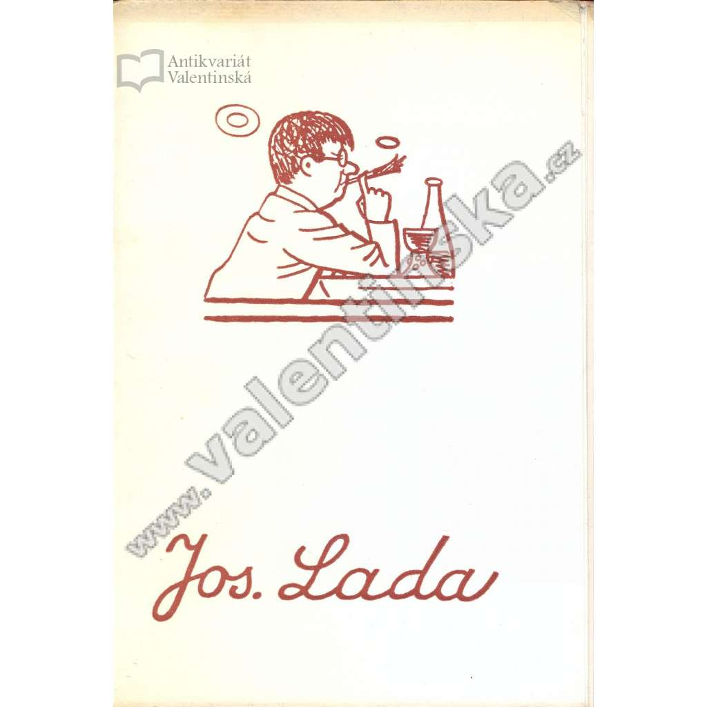 Knižní značky národ. umělce Josefa Lady