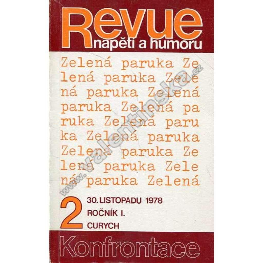 Revue napětí a humoru, ročník I., č. 2 (exil)
