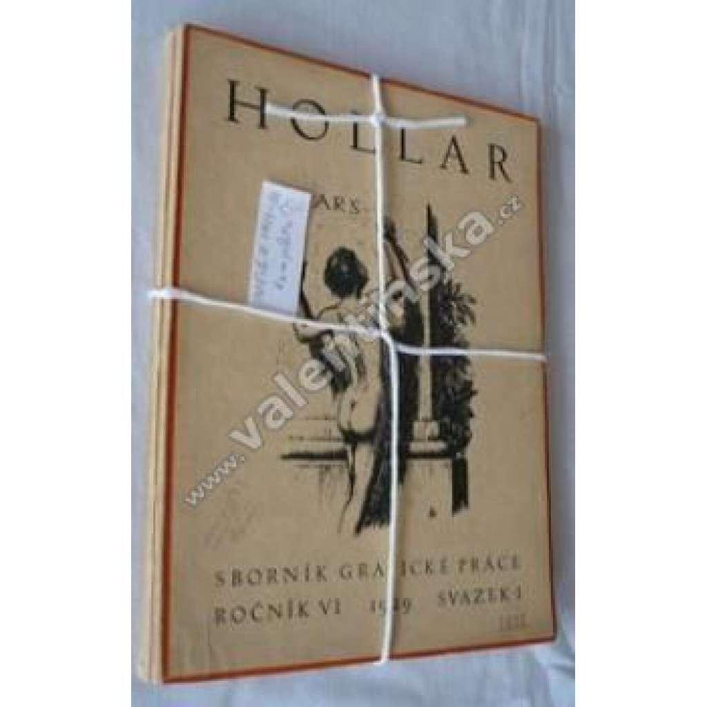 HOLLAR - Sborník grafického umění. VI. 1929-30