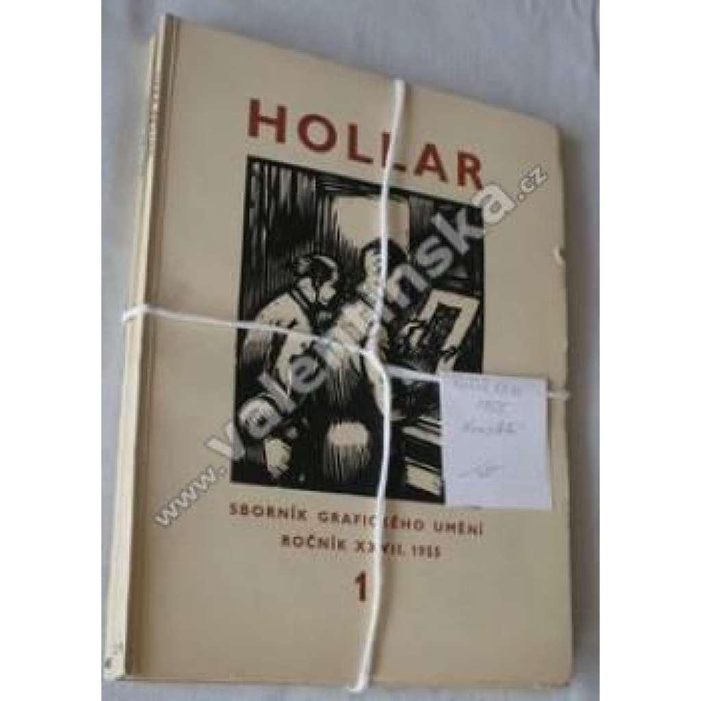 HOLLAR - Sborník grafického umění roč. XXVII/1955