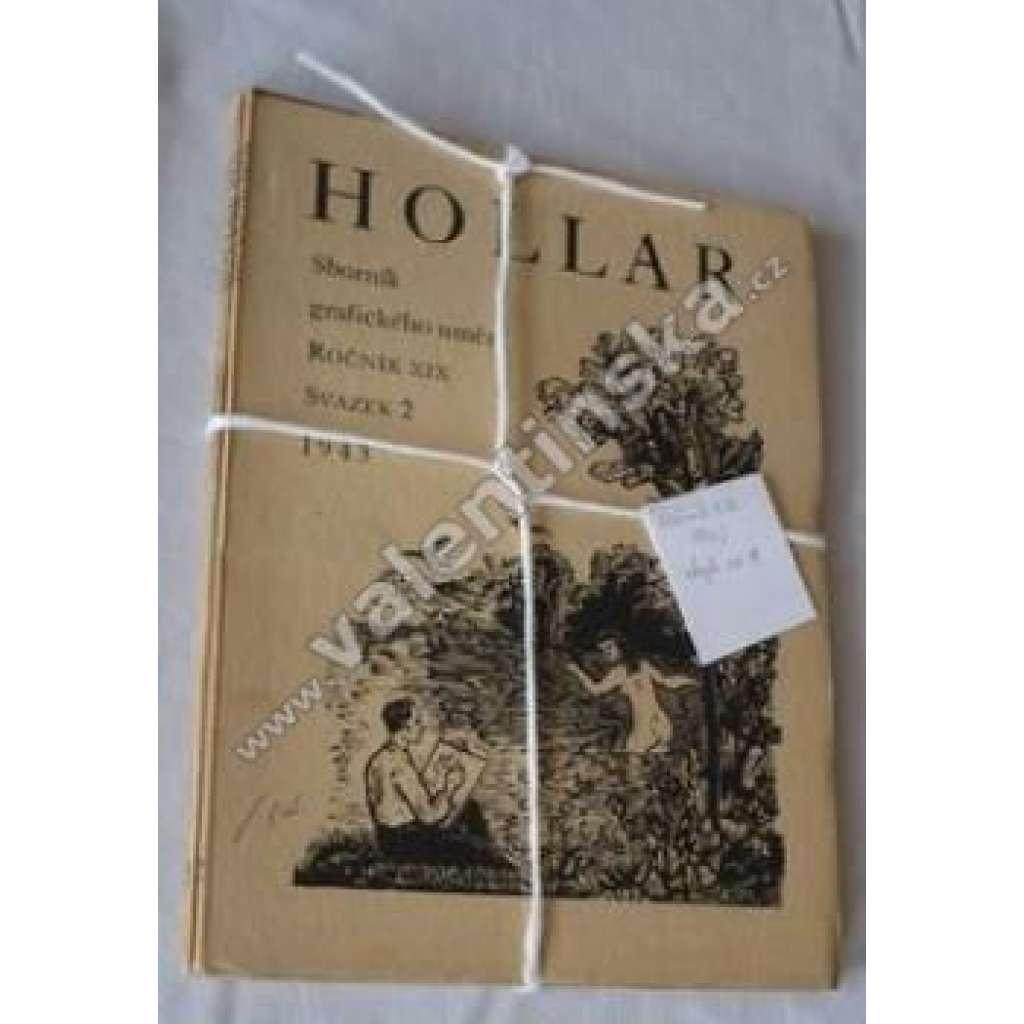 HOLLAR - Sborník grafického umění roč. XIX/1943