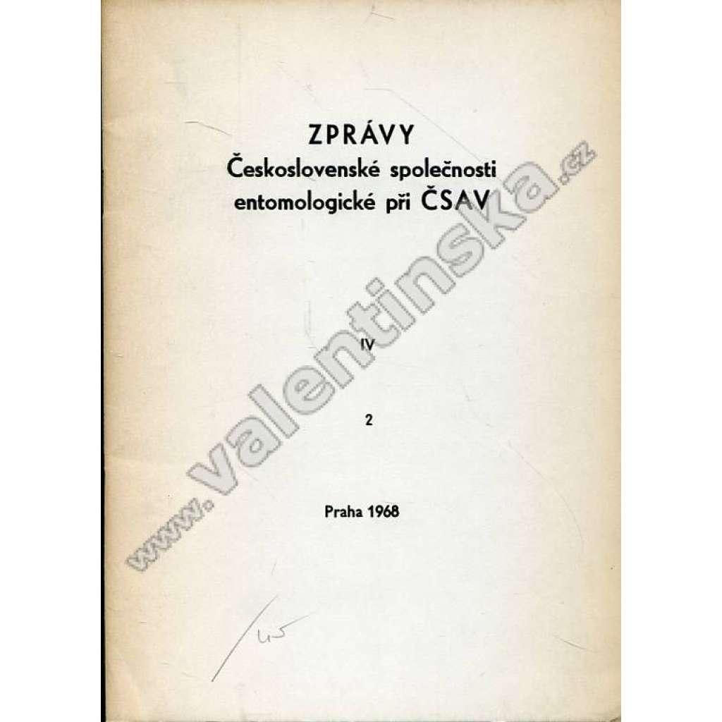 Zprávy Čsl. společnosti entomologické, 2/1968