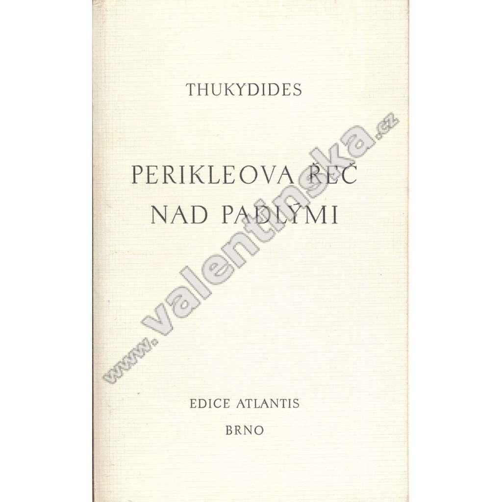 Perikleova řeč nad padlými (ed. Atlantis)
