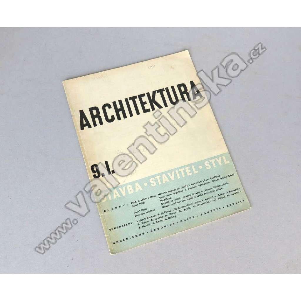 Architektura 9 / I. (1939)