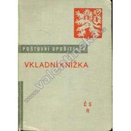 Poštovní spořitelna - Vkladní knížka