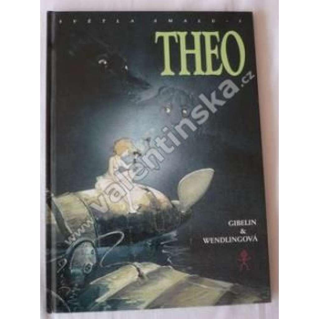 Theo 1. - Světla Amalu - - - komiks, comics