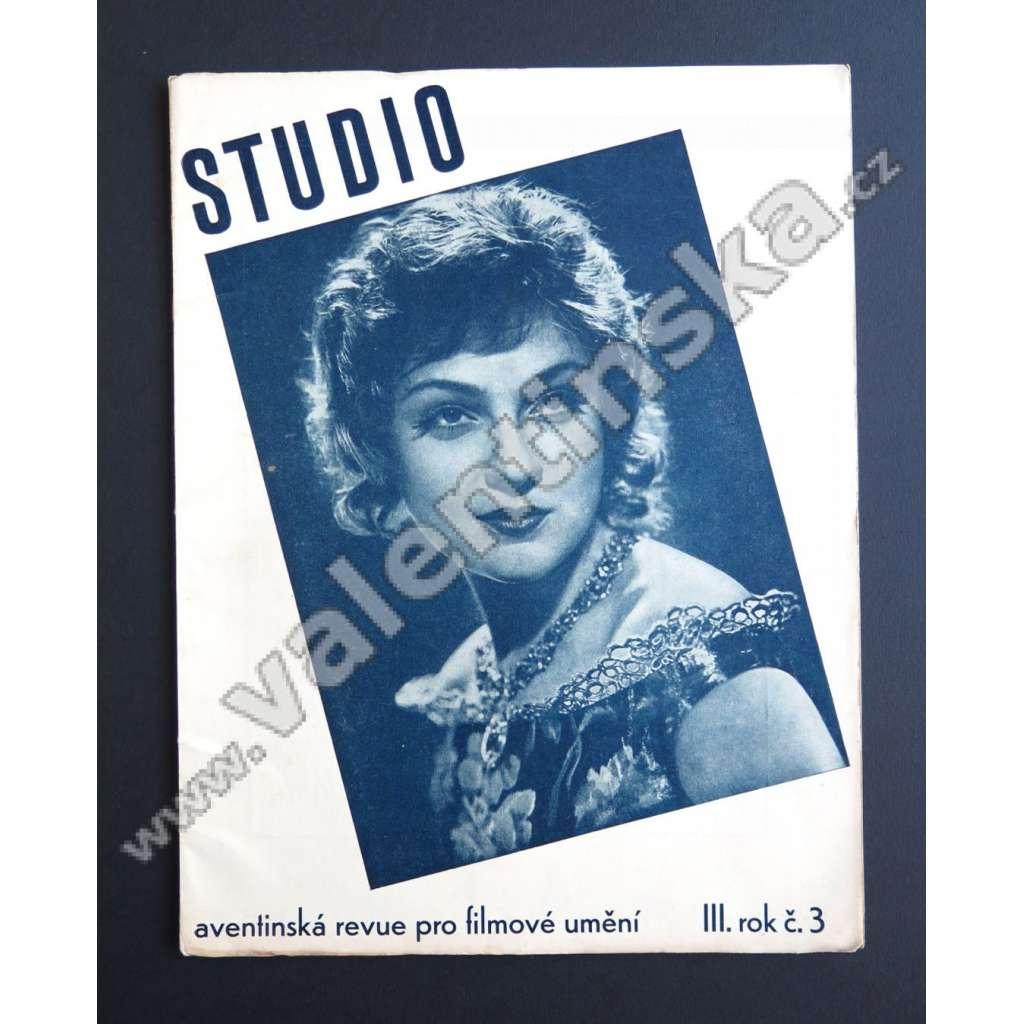 STUDIO 3/III (1931-32)
