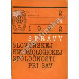Správy Slovenskej entomologickej spol., 2/1992