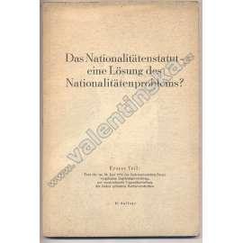 Das Nationalitätenstatut – ...