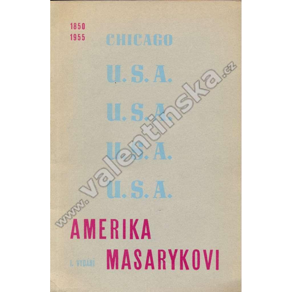 Amerika Masarykovi (exilové vydání)