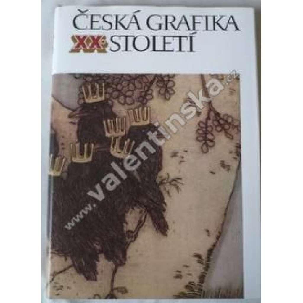 Česká grafika XX.století