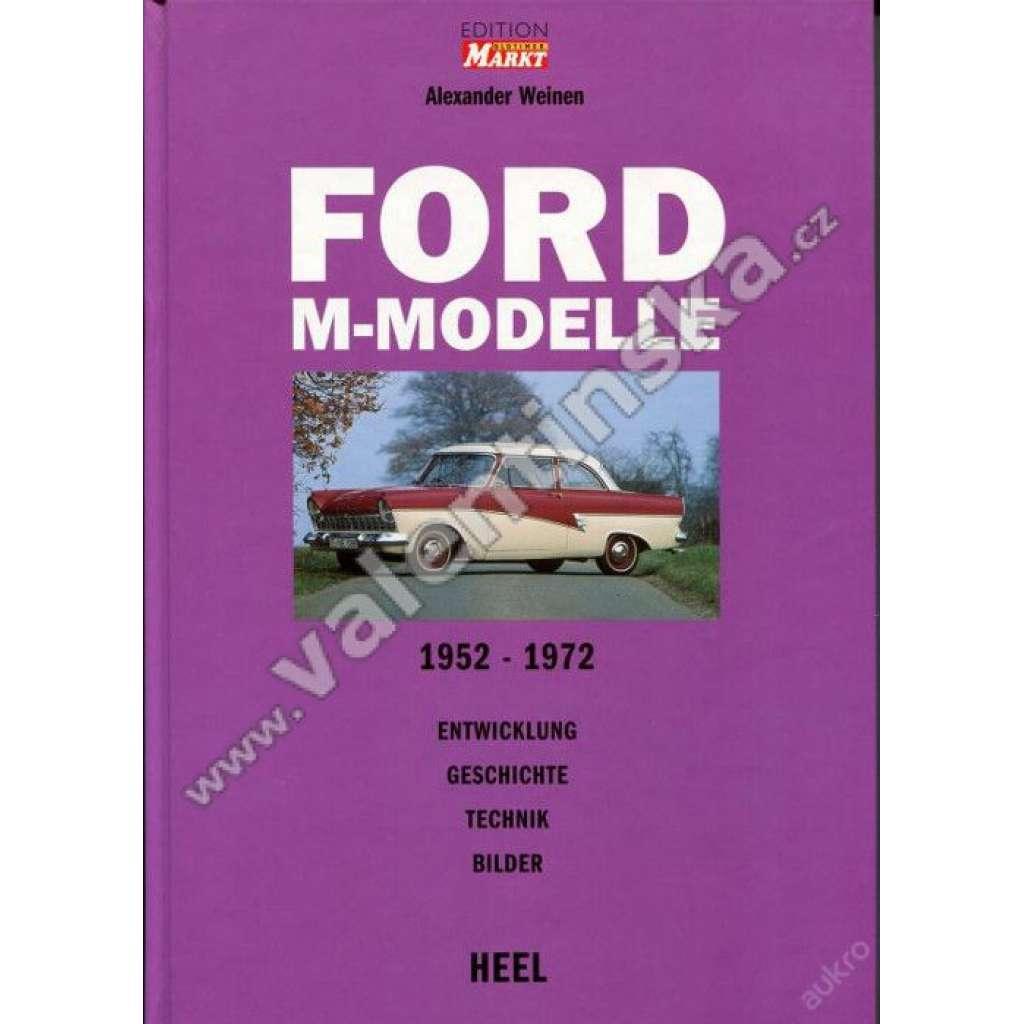 Ford M-Modelle. 12m-26m, 1952-1972 ...