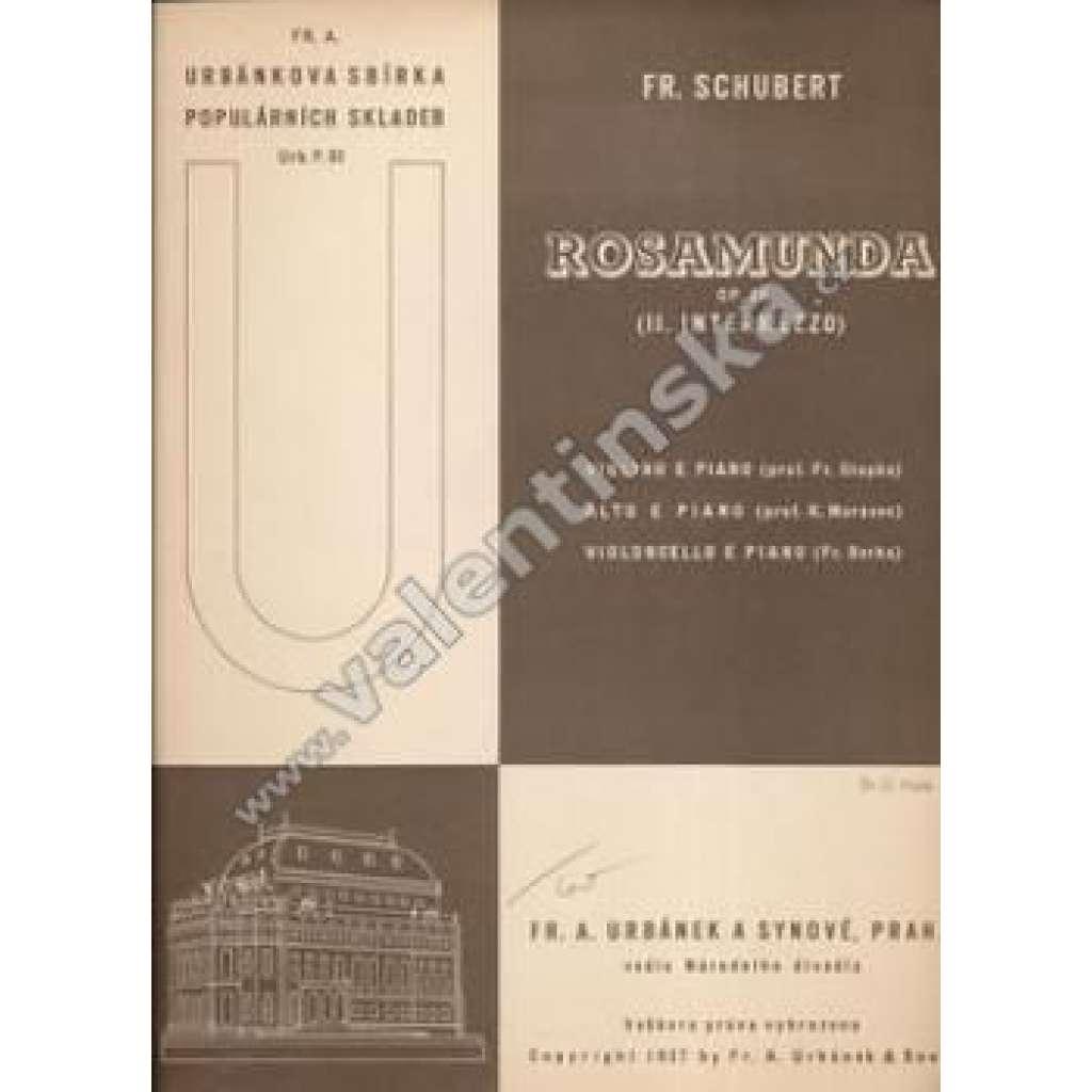 Rosamunda ( II.Intermezzo)