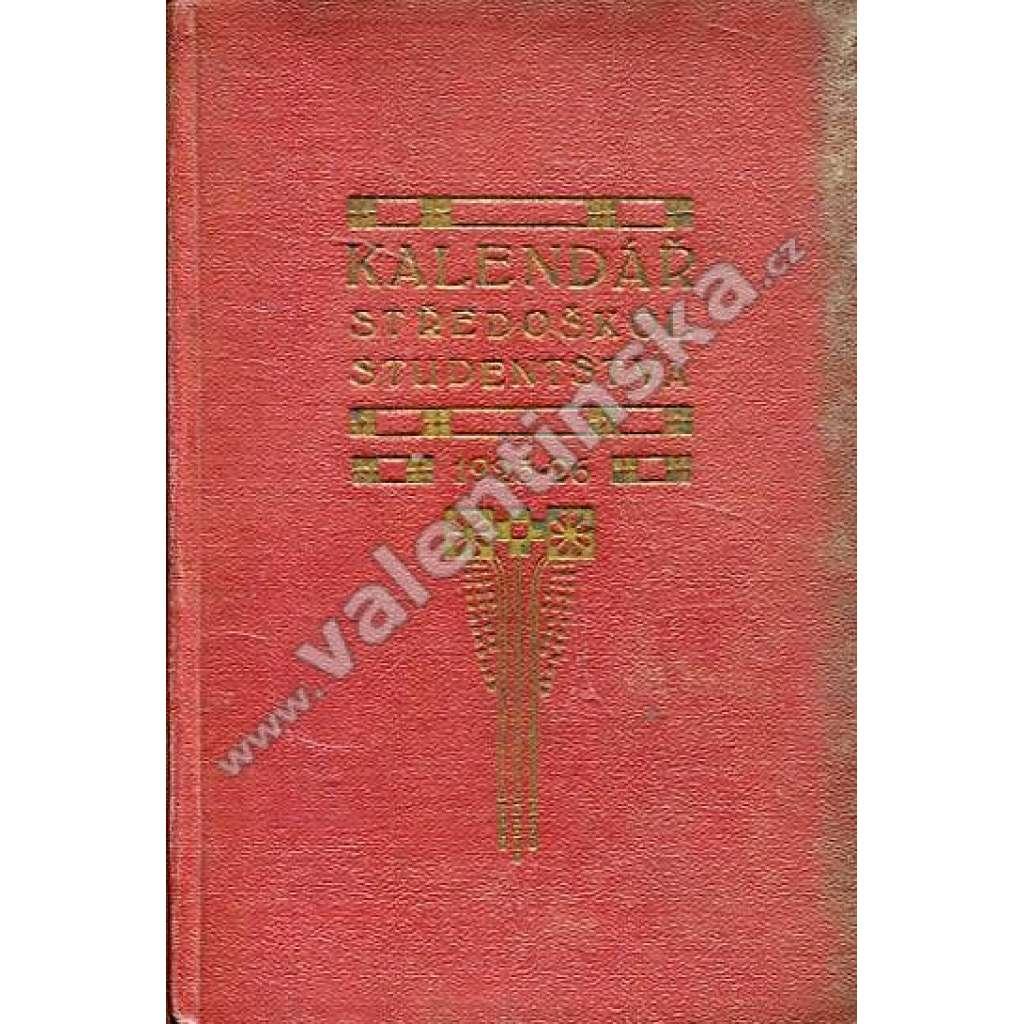 Kalendář pro středoškolské studenstvo, 1925-26